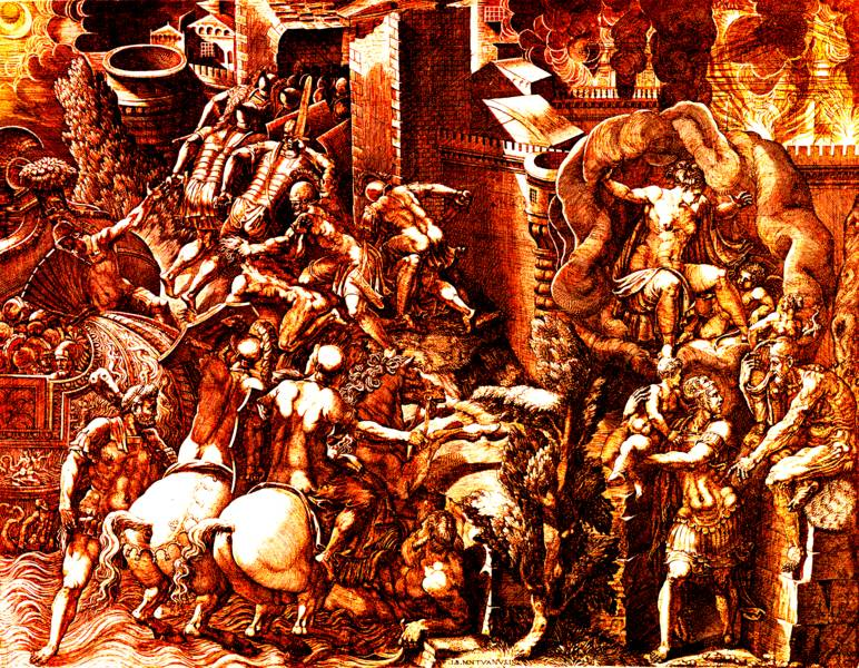 AENEAS BEGINS THE STORY OF TROY